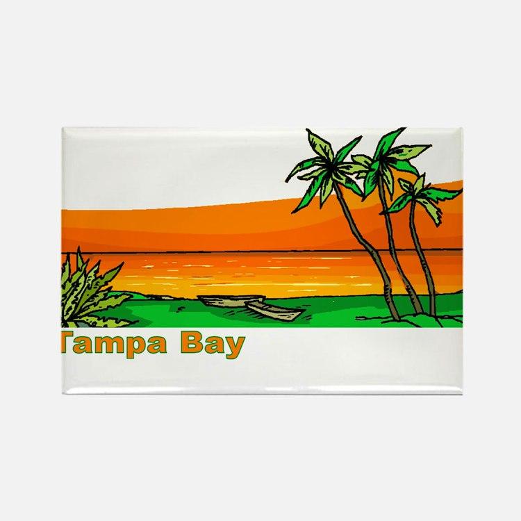 Tampa Bay, Florida Rectangle Magnet