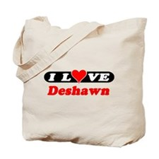 I Love Deshawn Tote Bag