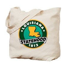 Louisiana Statehood Tote Bag