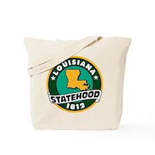 Louisiana Statehood Tote Bag