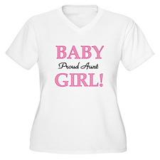 Baby Girl Proud Aunt T-Shirt