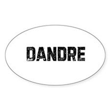 Dandre Oval Decal