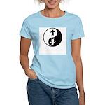 Yin Yang Penguins Women's Light T-Shirt