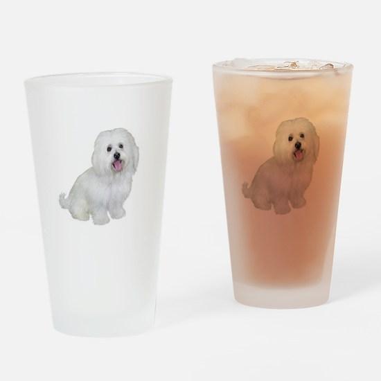 Havanese (W1) Drinking Glass