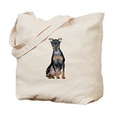 Miniature Pinscher 2 Tote Bag