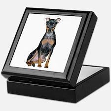 Miniature Pinscher 2 Keepsake Box