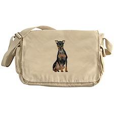 Miniature Pinscher 2 Messenger Bag