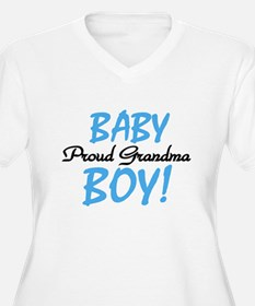 Baby Boy Proud Grandma T-Shirt