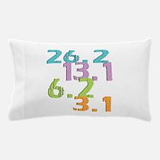 runner distances Pillow Case
