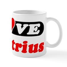 I Love Demetrius Mug