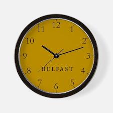 Belfast Wall Clock