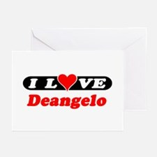I Love Deangelo Greeting Cards (Pk of 10)