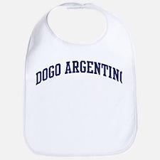Dogo Argentino (blue) Bib