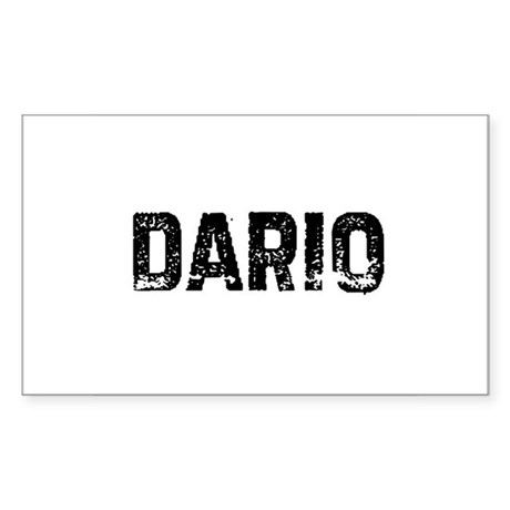 Dario Rectangle Sticker