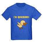 I'm Quackers Kids Dark T-Shirt