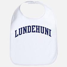 Lundehund (blue) Bib