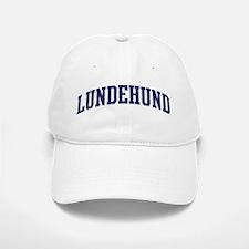 Lundehund (blue) Baseball Baseball Cap
