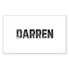 Darren Rectangle Decal