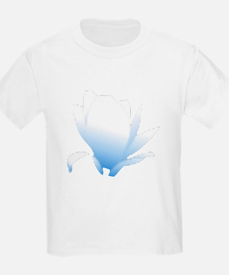 Blue Flower Blossum T-Shirt