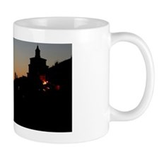 View of St. Peter's silhouette Mug