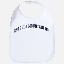 Estrela Mountain Dog (blue) Bib