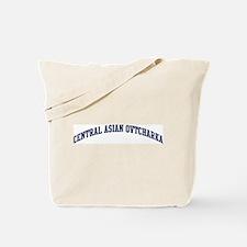 Central Asian Ovtcharka (blue Tote Bag