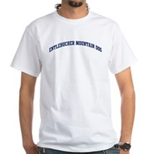 Entlebucher Mountain Dog (blu Shirt