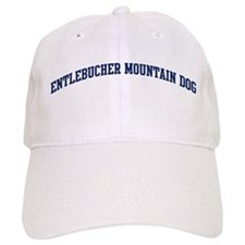 Entlebucher Mountain Dog (blu Baseball Cap