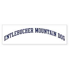 Entlebucher Mountain Dog (blu Bumper Bumper Sticker