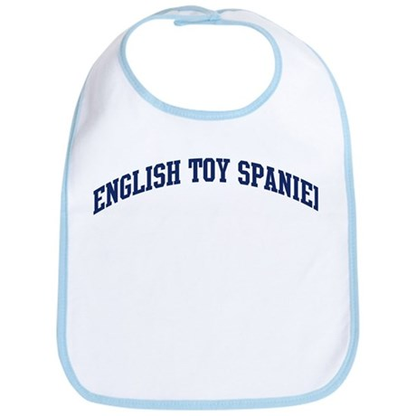English Toy Spaniel (blue) Bib