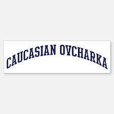Caucasian Ovcharka (blue) Bumper Bumper Bumper Sticker