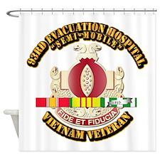 DUI - 93rd Evacuation Hospital w SVC Ribbon Shower