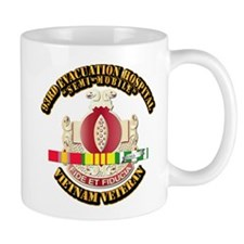DUI - 93rd Evacuation Hospital w SVC Ribbon Mug