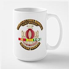 DUI - 93rd Evacuation Hospital w SVC Ribbon Mug