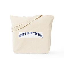 Kerry Blue Terrier (blue) Tote Bag