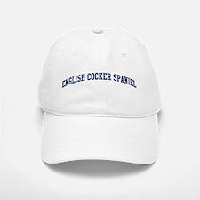 English Cocker Spaniel (blue) Baseball Baseball Cap