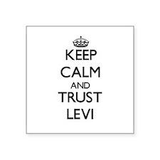 Keep Calm and TRUST Levi Sticker