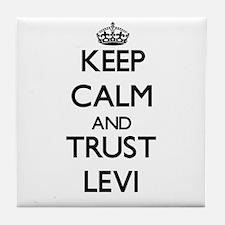 Keep Calm and TRUST Levi Tile Coaster