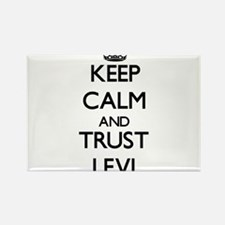 Keep Calm and TRUST Levi Magnets