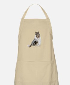 Collie (blue merle) Apron
