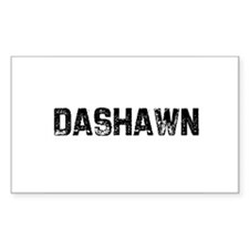Dashawn Rectangle Decal