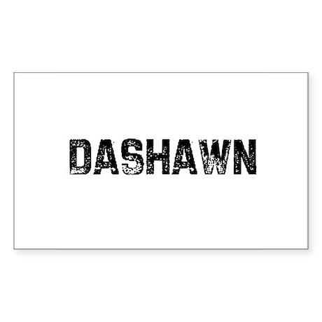 Dashawn Rectangle Sticker