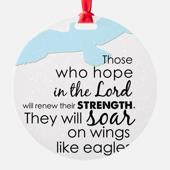 Wings like eagle Ornament