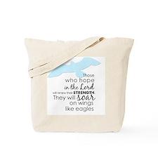 Wings like eagle Tote Bag