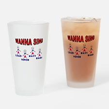 LADIES QUARTET Drinking Glass