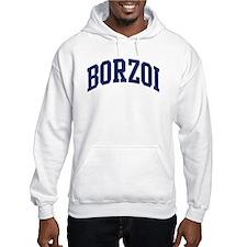 Borzoi (blue) Hoodie