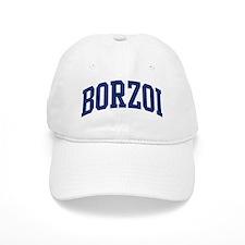 Borzoi (blue) Baseball Cap