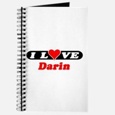 I Love Darin Journal