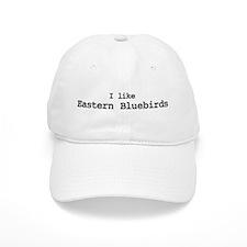 I like Eastern Bluebirds Baseball Cap