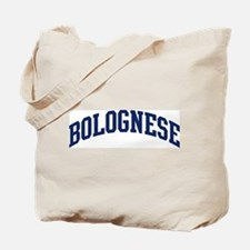 Bolognese (blue) Tote Bag